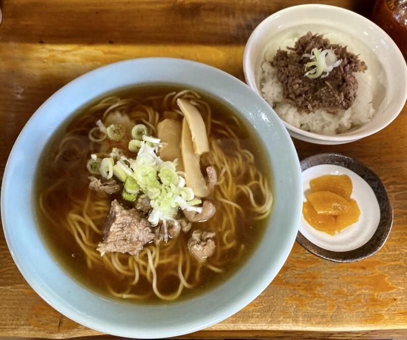 大館馬太郎 能代店 秋田県能代市花園町 馬肉ラーメン 馬丼(ミニ)