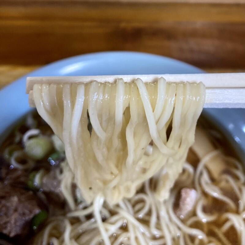 大館馬太郎 能代店 秋田県能代市花園町 馬肉ラーメン 麺