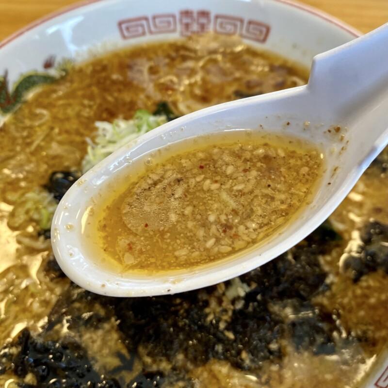 温もり中華そば 銀河 山形県鶴岡市下山添 こってりごまみそ担々麺 スープ