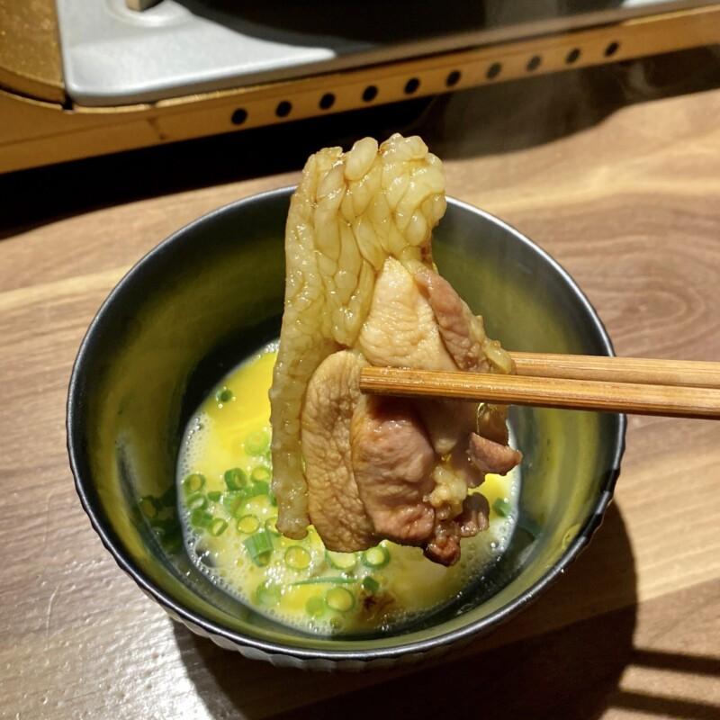 とりやきoniya おにや 新潟県新潟市中央区東堀前通 お任せコース 鶏すき