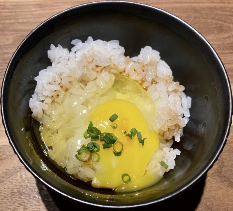 とりやきoniya おにや 新潟県新潟市中央区東堀前通 お任せコース 卵かけご飯