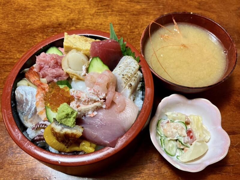 弁天鮨 新潟県新潟市東区柳ケ丘 生ちらし ちらし寿司