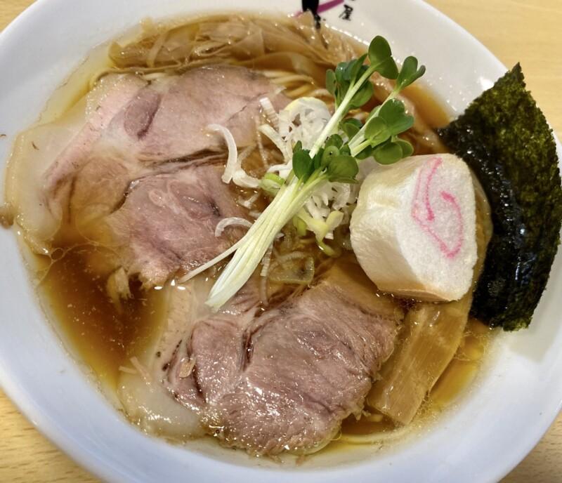 麺屋 しん蔵 しんぞう 福島県二本松市根崎 田舎の醤油 醤油ラーメン 具