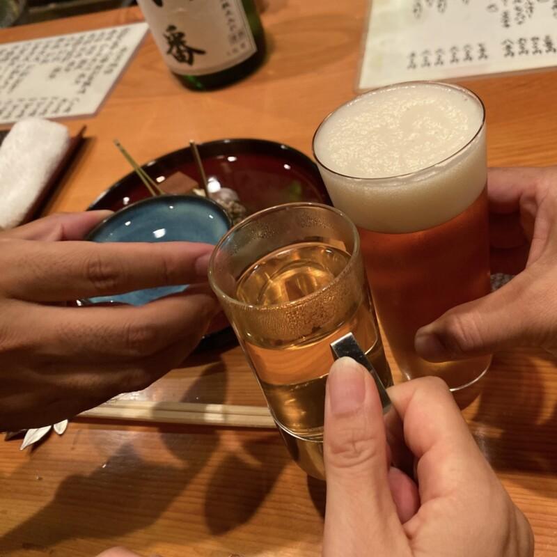 日本料理たかむら 秋田県秋田市大町 ビール ガージェリーエステラ 乾杯