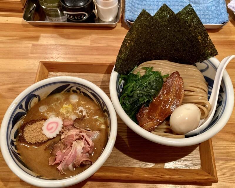 麺の極はなみち 岩手県盛岡市前九年 鰹つけ麺special