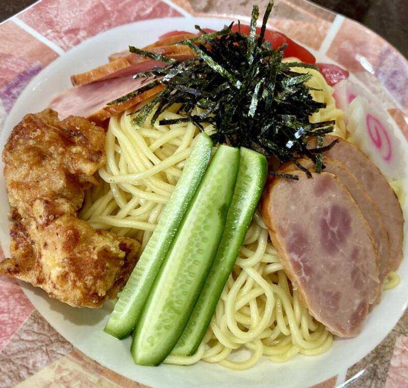 パンプキンハウス 秋田県大仙市大曲日の出町 濃厚魚介スープつけ麺 具